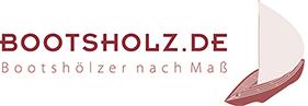 Bootsholz Logo Druck